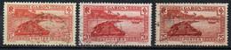 GABON 1932-3 O - Used Stamps