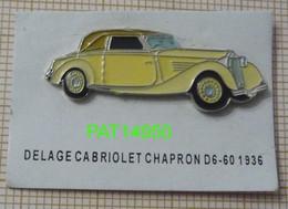 DELAGE CABRIOLET CHAPRON D6 1936 - Otros