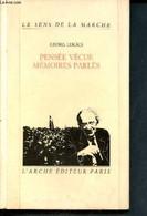 Pensée Vécue, Mémoires Parlées - Collection Le Sens De La Marche - Lukacs Georg - 1986 - Unclassified