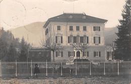 Italia  - BORGO FORNARI,  Villa, Foto Cartolina,  1909 - Genova