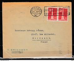 Brief Van Kovenhavn Naar Bordeaux (Frankrijk) Benyt Luftpost - Covers & Documents