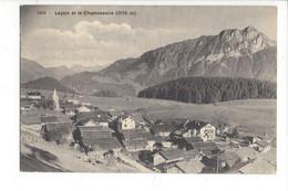 28033 - Leysin Et Le Chamossaire Carte Taxée - VD Vaud