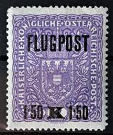 AUSTRIA 1918 - MLH - ANK 225x - Flugpost 1,50K - Poste Aérienne