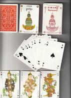 JEU DE 52 CARTES + 2 JOKERS / RAMAYANA :EPOPEE MYTHOLOGIQUE DU III E SIECLE / EDITION LUXE PHNOM PENH CAMBODGE : - 54 Cards