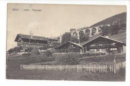 28038 - Leysin Paysage 1921 Viaduc Et Train - VD Vaud