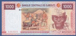 DJIBOUTI - P.42a – 1.000 FRANCS2005 - UNC Serie B - Djibouti