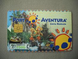 7049 Télécarte Collection PORT AVENTURA Costa Daurada   ( Recto Verso)  Carte Téléphonique - Pubblicitari