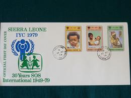 Sierra Leone 1979 SOS Kinderdorf FDC VF - Sierra Leone (1961-...)