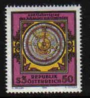 Austria - Oostenrijk 1984 Astrolabium Y.T. 1622 ** - 1981-90 Ongebruikt