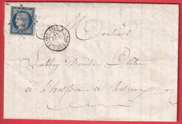 N°4 PC 405 BLANGY DU CALVADOS 1852 POUR LISIEUX - 1849-1876: Classic Period