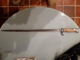 """Baïonnette Allemande Mauser S98 """"langue De Carpe"""" - Knives/Swords"""