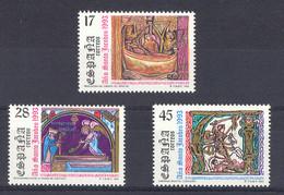 Spain 1993 - A. Jacobeo Ed 3252-54 (**) - 1991-00 Nuevos & Fijasellos