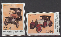 Andorra 2003.  Automovil Ed 309-10  (**) - Unused Stamps