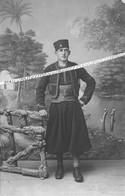 1914 - 1920 / CARTE PHOTO / 9e RMZ / 6e COMPAGNIE ( ALGER ) / MARCEL AGRET / 9e REGIMENT DE MARCHE DE ZOUAVES - War, Military