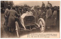 AUTO 1903  Voiture De Course Automobile En IRLANDE  Pneus Michelin - JENATZY Sur MERCEDES 4e Coupe Gordon-Benett - Passenger Cars