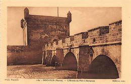 Maroc - MOGADOR Essaouira - L'entrée Du Port à Barcasses - Ed. Mars Flandrin 1162 - Ohne Zuordnung