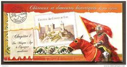 2012- Carnet Adhésif- CHATEAUX Et DEMEURES (1 ) -N° BC 714 -NEUF -LUXE ** NON Pliés - Commemorrativi