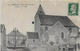 Breuillet-village - L'église Et La Poste - Autres Communes