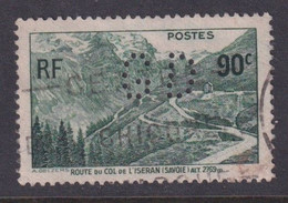 Perforé/perfin/lochung France No 358 GD E. Garin Duchatel Et Cie - Gezähnt (Perforiert/Gezähnt)