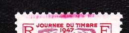 """779 - Louvois - Journée Du Timbre 1947 - Variété : """"défaut D'essuyage"""" - Neuf N** - Très Beau - Abarten: 1945-49 Ungebraucht"""