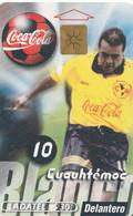 MEXICO. FUTBOL - COCA COLA - Cuauhtémoc Blanco. 1999-02. MX-TEL-P-0278. (182) - Deportes