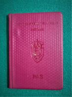 Passport Danmark 1995 Pasaporte, Passeport, Reisepass - Documentos Históricos