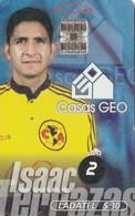 MEXICO. FUTBOL - COCA COLA - Isaac Terrazas. 1999-01. MX-TEL-P-0251. (183) - Deportes
