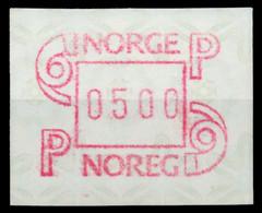 NORWEGEN ATM Nr ATM3-500 Postfrisch X911B1E - ATM/Frama Labels