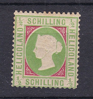 Helgoland - 1869/73 - Michel Nr. 6 - Ungebr. - Gepr. - 200 Euro - Helgoland