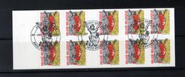 BELGIQUE BELGIE 2000 CARNET FOOTBALL OBL FDC PETIT RECHAIN VERVIERS SUPERBE - Used Stamps