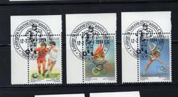 BELGIQUE BELGIE 1994 Jeux Olympiques Los Angeles Football Flamme Obl SAINT VINCENT SOIGNIES 7060 SUPERBE - Used Stamps