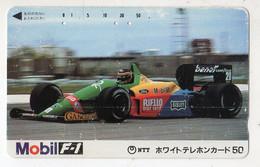 JAPON TELECARTE SPORT AUTO FORMULE 1 MOBIL - Deportes