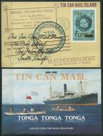 Tonga 1982 - Mi-Nr. Block 2-3 ** - MNH - Blechdosenpost / Tin Can Mail - Tonga (1970-...)