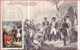 NAPOLÉON 1er Et Son Temps - Napoléon Devant Madrid (3 Déc. 1808) - Cachet Bicentenaire De La Naissance De NAPOLÉON 1er - Characters