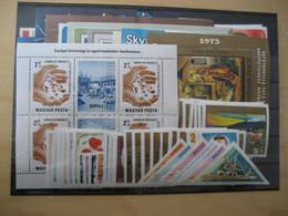 Ungarn Jahrgang 1973 Postfrisch Komplett (13604) - Ungebraucht