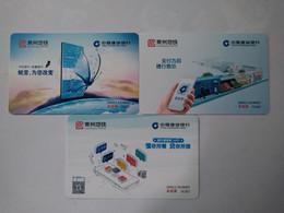 China Transport Cards, Metro Card, Changzhou City, Jiangsu Province, (3pcs) - Non Classificati