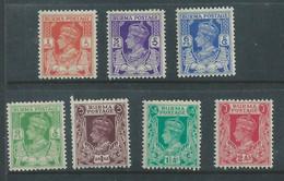 Burma GVIR, 1939 - 1940,  1p - 2anna, MH * - Burma (...-1947)