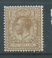 Great Britain, GVR, 1924, 1/-,  MH * - Neufs