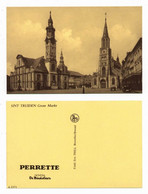 SINT TRUIDEN - GROTE MARKT - POSTKAART UITGAVE PERRETTE  - NELS (1254) - Sint-Truiden