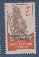 GABON     N°  YVERT  :  88  NEUF AVEC  CHARNIERES      ( CH  4/5  ) - Unused Stamps