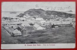 Cpa VINCENTE CABO VERDE Vista Da Fortaleza - Cape Verde