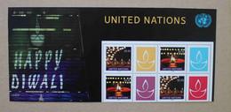 N1-I2 : Nations Unies (N-Y) - Happy Diwali  également Appelée Divali Ou Deepavali - Neufs