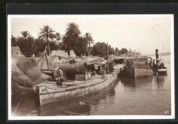 AK Bagdad, Wasserpartie Mit Hafen - Iraq
