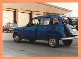 PHOTO ORIGINALE 12,5 X 17,5 Cm - ACCIDENT DE VOITURE RENAULT 4L DE GENDARMERIE - R4 R 4 - CRASH CAR - Coches