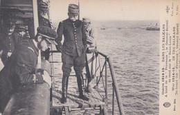 Dans Les Balkans à Bord De La Provence Le Général Sarrail Se Rend Sur Le Saint Louis - Guerra 1914-18