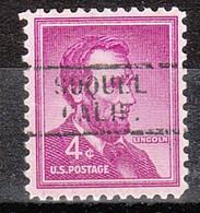 Locals USA Precancel Vorausentwertung Preo, Locals California, Soquel 729 - Precancels