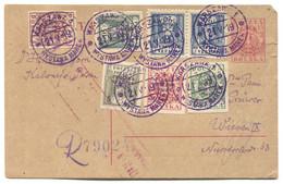 WARSZAWA POLAND - WYSTAWA MAREK / STAMPS EXHIBITION, CENSURE REGISTERED, Year 1919. - Briefe U. Dokumente