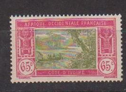 COTE D'IVOIRE     N°  YVERT  :  71    NEUF AVEC  CHARNIERES      ( CH  4/5  ) - Unused Stamps