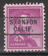 Locals USA Precancel Vorausentwertung Preo, Locals California, Stanton 729 - Precancels