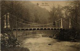 Ste. Ode (Sainte Ode) Le Pont Suspendu 19?? - Sainte-Ode